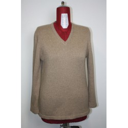 Pull en cachemire brown