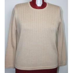 Pull en laine à mailles fantaisies