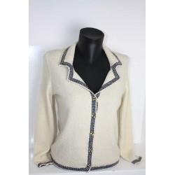 veste en boutonne de laine